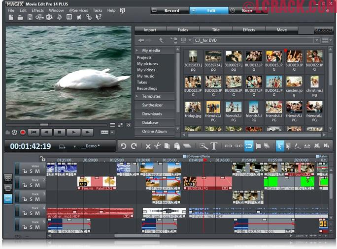 MAGIX Movie Edit Pro Plus 2018 Crack + Serial Number