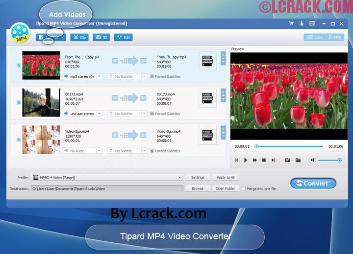 Tipard MP4 Video Converter 9 Registration Code