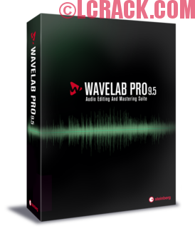 WaveLab Pro 9.5 Crack Free Download
