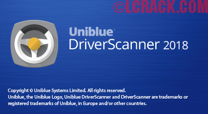 Uniblue DriverScanner 2018 Crack + Serial Key