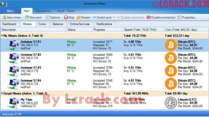 Awesome Miner Ultimate 5.0.2 Full Crack