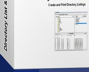 Directory List & Print Pro 3.46 Crack Full Version