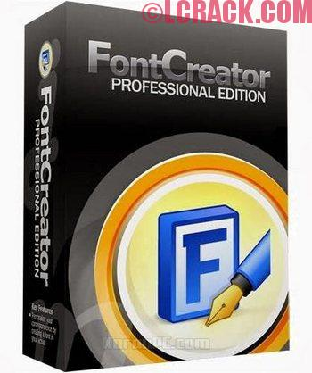 FontCreator Professional Edition 11.5 Full Crack