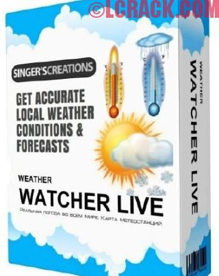 Weather Watcher Live 7.2.117 License Key 2018