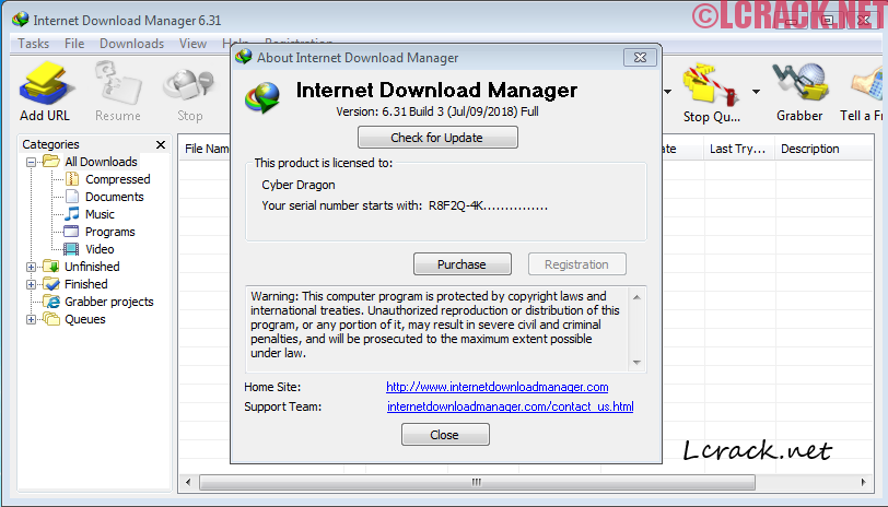Internet Download Manager 6.32 Full Keygen