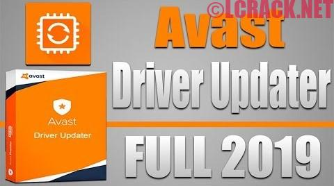 Avast Driver Updater 2.5 License Key 2019