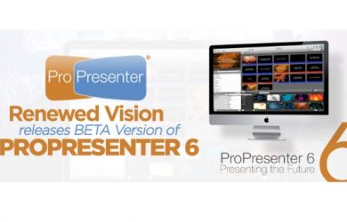 ProPresenter 6.1.6.2 Full Crack For Windows and Mac