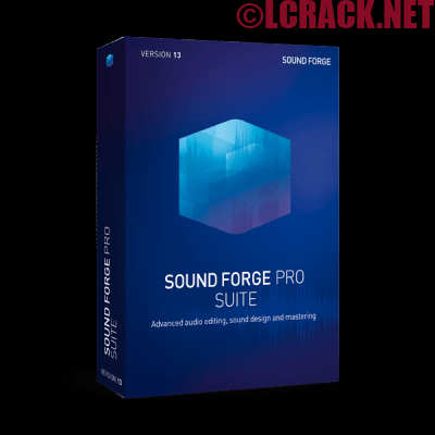 MAGIX SOUND FORGE Pro Suite 13.0 Full Crack