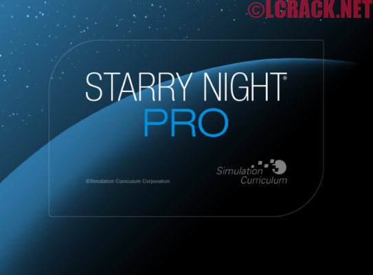Starry Night Pro Plus 8 Crack Free Download