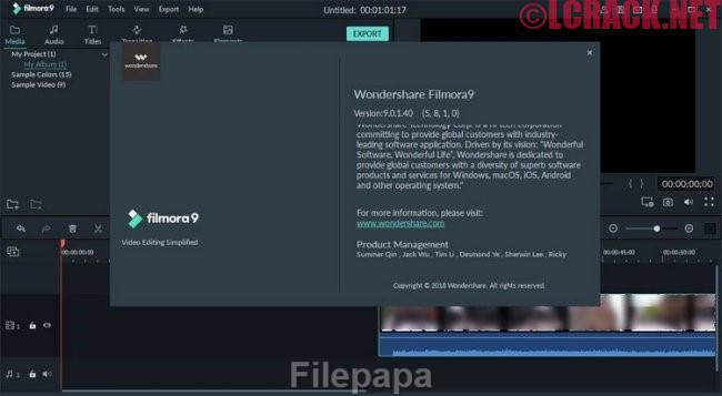Wondershare Filmora 9.1.4 Full Crack